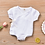 Thumbnail: Short Sleeve Wrap Romper Sizes 0-12 months