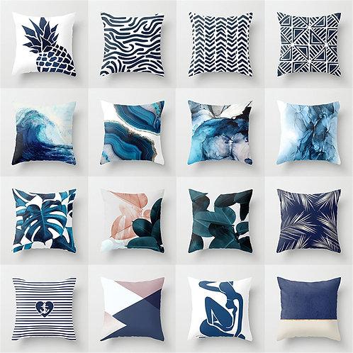 Blue Decorative 45*45cm Cushion Cover