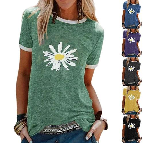 Daisy Print T-Shirt
