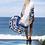Thumbnail: Blue and White Oversize Kimono