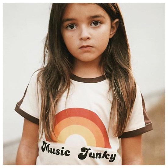 Rainbow Print T-Shirt Sizes 1-5 years