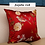 Thumbnail: Floral Bird Embroidered Cushion Cover