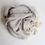 Thumbnail: Muslin Cotton Baby Blanket Fringe 2 Layer