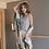 Thumbnail: 4Pcs Pyjama Set Robe, Vest, Pants & Shorts