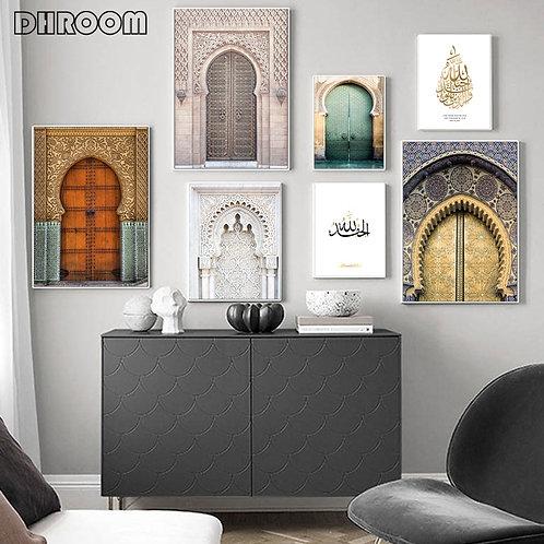 Moroccan Door Wall Art