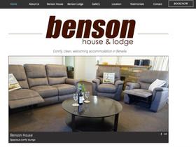 Benson house & lodge