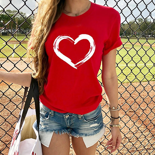 Heart Tee (plus sizes available)