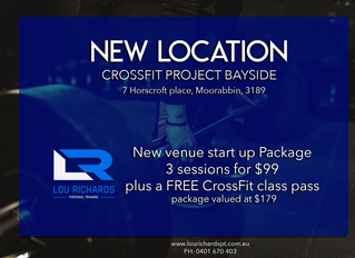 New Location + New Offer