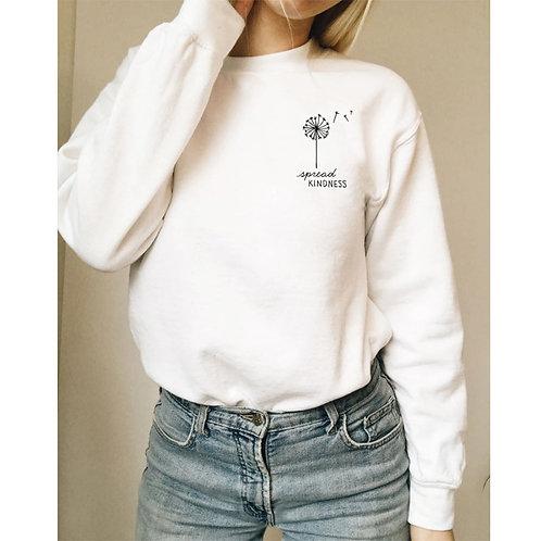 Spread Kindness Flower Sweatshirt