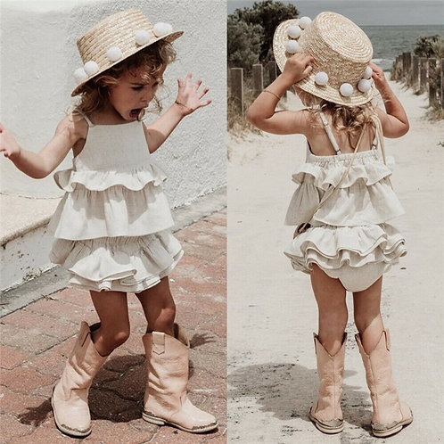 Boho Ruffle Top and Shorts Sizes 6m-3 years