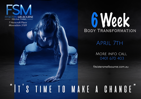 6 Week Body Transformation