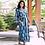 Thumbnail: Blue and White Print Kimono