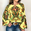 Thumbnail: Floral Print Long Sleeve Shirts (Plus size Available)