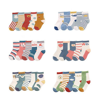 Baby Toddler Socks 5pairs