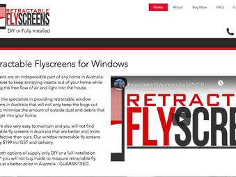 Retractable FlyScreens