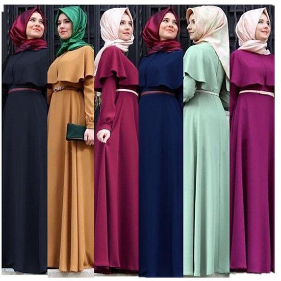 Ruffle Top Maxi Dress