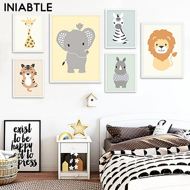 Baby Animals Wall Art