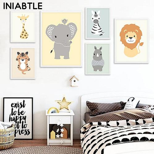 Baby Animals Wall Art