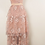 Thumbnail: Pink Lace Dress Vintage Embroidered Dress