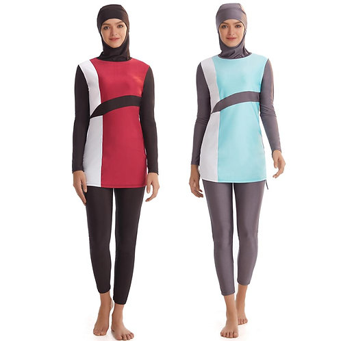 Hijab Swimsuit New Burkini Long Sleeve Bathing Suit
