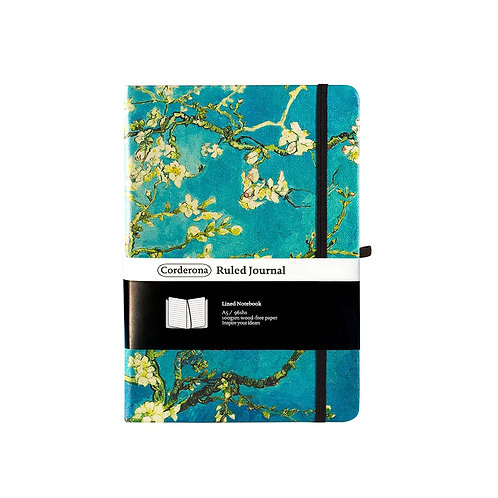 A5 Hard Cover Blossom Notebook Journal Diary