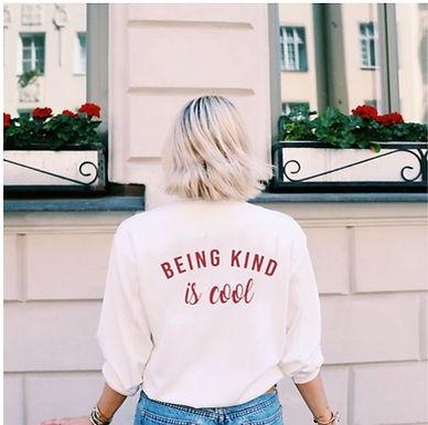 Being Kind Is Cool Sweatshirt