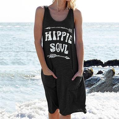 Hippie soul tank dress (plus sizes available)