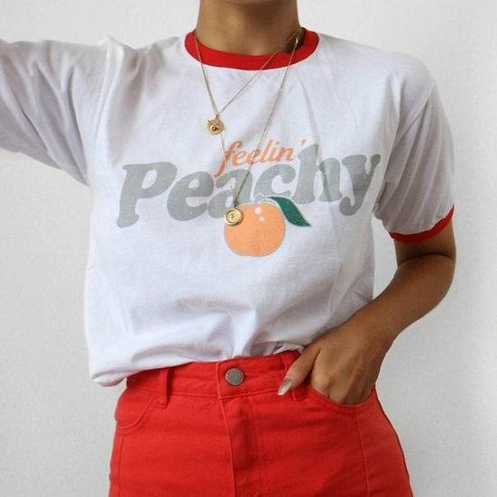 Fellin' Peachy Vintage T Shirt