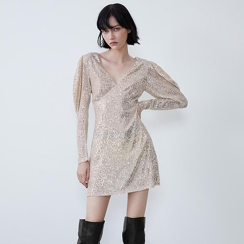 Mini  Sequin Dress