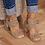 Thumbnail: Mid Heel Open Toe Shoes