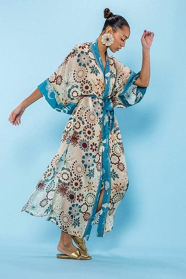 Vintage Bohemian Kimono