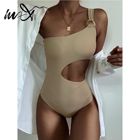 Cut Out Bathing Suit