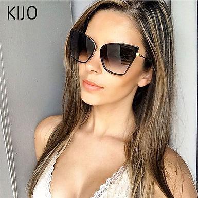 Cateye Sunglasses  Mirror Retro