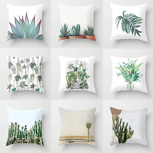 Cactus Flower Cushion Covers