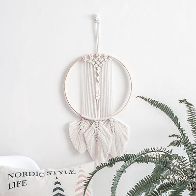 Hand-Woven Wall Hanging