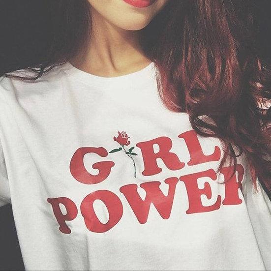 Girl Power Graphic Tee