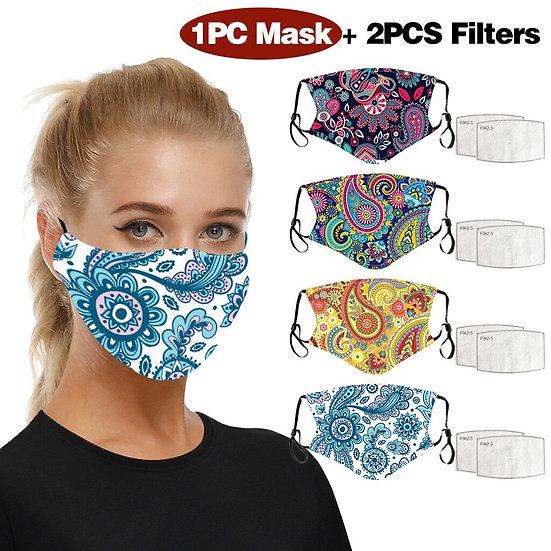 Paisley Print Face Masks