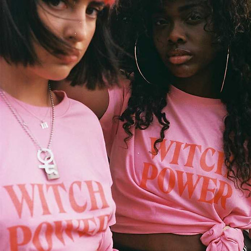 WITCH POWER Pink T-Shirt
