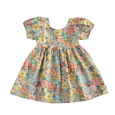 Girls Floral Dress Sizes 1-6 years