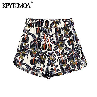 Elastic Waist Boho Shorts