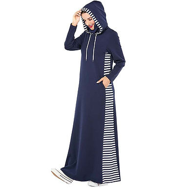 Hooded Long Dress