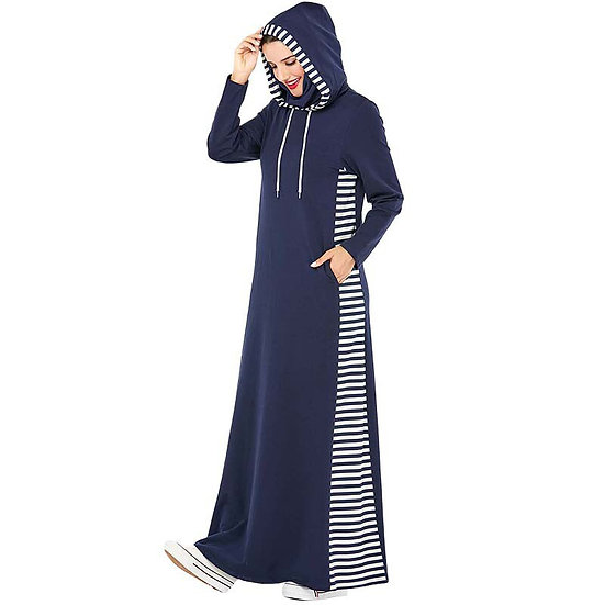 Hooded Long Dress