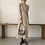 Thumbnail: Vintage Ruched Sleeve A-Line Dress