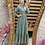 Thumbnail: Dotted Ruffled Hem Maxi Dress (Plus Sizes available)