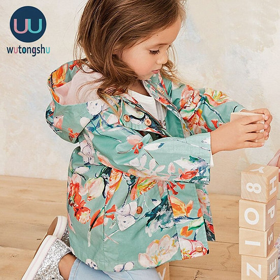 Hooded Zip Up Jacket For ages 2-8 Years
