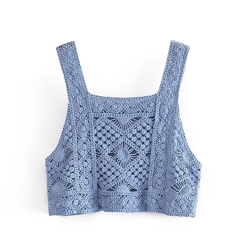 Knitted Crop Cami Top