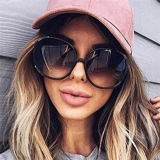 Round Sunglasses  Oversized
