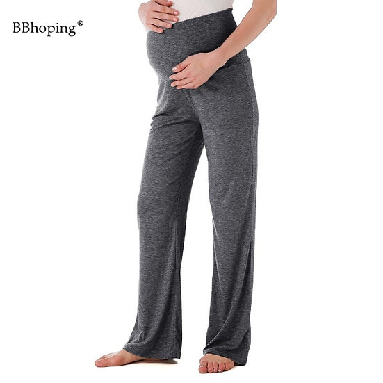 Maternity Wide Straight Lounge Pants