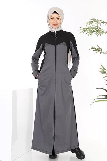 Summer Long Coat Zip up Dress (Plus sizes available)