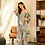Thumbnail: Cotton Satin Pyjama 3 piece Set
